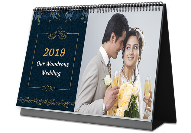 Wedding Vibes Photo Calendar Printing