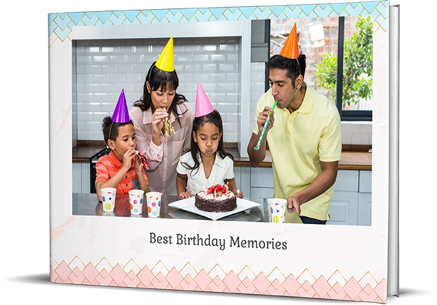 Birthday Photo Book Online - Picsy