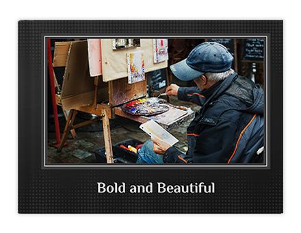 Make Trendy Portfolio Photo Book Online