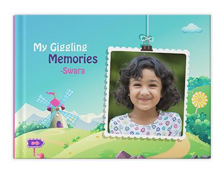 Krazy Kids Personalized Photo Albums