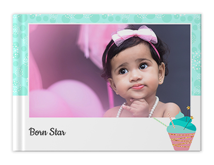 Birthday Twinkle Custom Photo Books